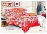 ポリエステル反応印刷のあや織りのMicrofiberの寝具セット