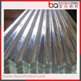 Hoja galvanizada SGCC del material para techos del corrugación