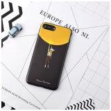Cubierta impresa aduana del teléfono móvil del silicio TPU del OEM para el iPhone 7 más