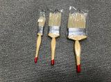 Hölzerner Griff-Lack-Pinsel 730 mit weißem Borste-Material