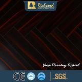 Pavimentazione laminata resistente dell'acqua del faggio dello specchio E1 dell'annuncio pubblicitario 12.3mm