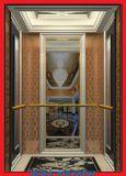2 entrées opposées ascenseur élévateur passager avec machine sans chambre
