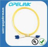 Vezel Optische Patchcord (Enige Wijze) lc-LC