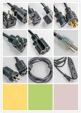 4X16A Spoel van de Kabel van Duitsland van contactdozen IP44 de Rubber, Spoel 40m van het Koord van de Uitbreiding van Schuko h07rn-F Rubber
