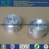 Peças sobresselentes anodizadas pretas de alumínio da máquina do CNC da precisão do OEM