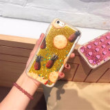 Cassa della sabbia del fumetto delle cellule liquide della stampa/telefono mobile per il iPhone 7