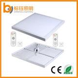 электрическая лампочка 2700-6500k панели потолочной лампы 30W 400X400mm квадратная СИД установленное поверхностью вниз освещая