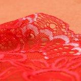 Tessuto chimico del merletto di disegno floreale per l'indumento