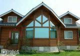 Casa ligera de la estructura de acero, chalet prefabricado de acero ligero