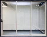 Glas van de Kunst van het Bewijs van de Deuren van de Zak van het aluminium het Binnenlandse Glijdende Correcte