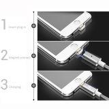 2 in 1 cavo di carico magnetico del USB con il rivestimento di nylon per l'IOS ed i telefoni Android