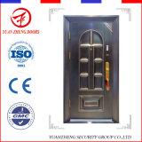Puertas de acero usadas interiores modernas de la seguridad del metal residenciales