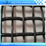 Schwarzes Stahldraht-quetschverbundenes Maschendraht-Quadrat-Ineinander greifen