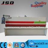 Jsd QC12y-6X2500 hydraulische Schwingen-Träger-Schere