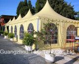 Kundenspezifischer gedruckter wasserdichter Art-Kabinendach-Zelt-Hersteller der Pagode-10 für Verkauf