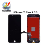 Черная замена агрегата экрана цифрователя касания индикации LCD на iPhone 7 плюс 5.5 дюйма