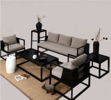 Sofá de madeira da poltrona da mobília moderna da sala de visitas
