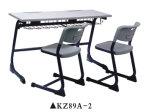 Tabela de madeira da escola e mobília da cadeira ajustada para o estudante