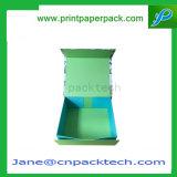 Kundenspezifischer Drucken-magnetischer Falz-Buch-verpackengeschenk-Kasten