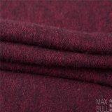 Tessuto cotone/delle lane, spesso per l'inverno nel colore rosso