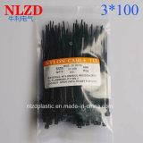 NlZD 2017 New Nylon Cable Tie 2.5X100mm Plastic Zip Tie 100mm * 2.5mm