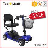 Scooter pliable de mobilité de mouvement facile d'énergie électrique de qualité pour handicapé et des adultes