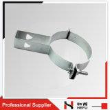 鋳鉄の金属の頑丈な縦の管の持ち上がるクランプ