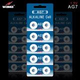 Lr927 AG7 alkalische Tasten-Zellen-Batterie