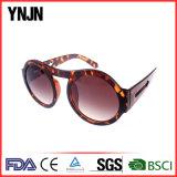 Солнечные очки рамки глаза Ynjn большой круглой напечатанные таможней (YJ-S72515)