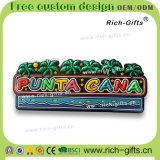 Souvenir promotionnel Antigua (RC- d'aimants de réfrigérateur de PVC de cadeaux personnalisé par décoration)