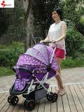 Landau de luxe de vente chaud de bébé