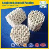 Embalagem estruturada cerâmica para aplicações de transferência de calor e massa
