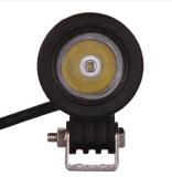 Coche SUV auto ATV 4WD 4X4 LED campo a través de la pulgada 12V de la luz 2 del trabajo de la viruta 10W LED del CREE que conduce la linterna del carro de la motocicleta de la lámpara de la niebla