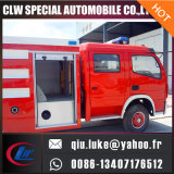 3cbm 4*2の消火活動のトラック