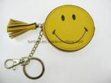 16nw027b 눈동자 사랑스러운 키 Ring/PU 지갑을%s 소형 동전 부대