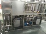 machine recouvrante remplissante de lavage de l'élément 5 du gallon 900bph de choc de position automatique de baril 3in1