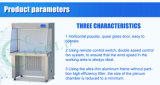 Sw-Cj-1bu Einzeln-Einzelner horizontaler Druckluftversorgung-Fluss-sauberer Prüftisch