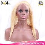 360 de Frontale Sluiting van het kant met het Haar van de Baby, het Rechte Frontale Haar van de Kleur van de Blonde
