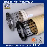 Bolsos de filtro des alta temperatura Polyimide/P84/bolsos de filtro del pi PTFE