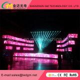 Actividades grandes de la boda, interior / al aire libre P3.91 Exhibición video del LED para la etapa