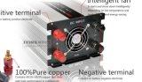 12V 220V Inversor Split Aire Acondicionado Solar 3kw 3000W Inversor Generador Inversor De Alta Tensión