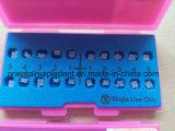 Il CE, iso ha approvato le parentesi di ceramica ortodontiche (parentesi edgewise/Roth/MBT)