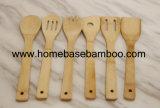 Утварь SGS УПРАВЛЕНИЕ ПО САНИТАРНОМУ НАДЗОРУ ЗА КАЧЕСТВОМ ПИЩЕВЫХ ПРОДУКТОВ И МЕДИКАМЕНТОВ LFGB Bamboo оборудует ложку, шпатель, развлетвляет дешевый Cookware