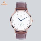 De Horloges van het kwarts voor Mannen en Vrouwen vormen Europees Horloge 71312 van het Roestvrij staal van de Stijl