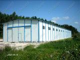 安い価格のプレハブの家または鉄骨構造の倉庫の建物