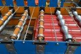 自動屋根ふきによって波形を付けられるシートは機械を形作ることを冷間圧延する