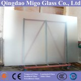 O ácido gravou o vidro do vidro da mobília do vidro geado/chuveiro