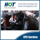 Linha de produção do equipamento da flutuação do ouro