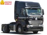 Vrachtwagen van de Tractor van de Tractor 371HP 420HP van Sinotruk HOWO de Hoofd4X2