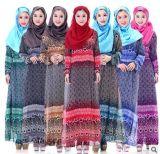 Самые последние шифоновые исламские женщины носят турецкое платье одежд способа